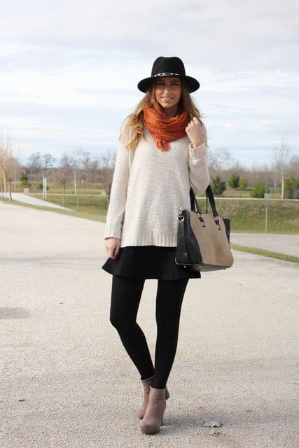 how to wear skirts in winter (15)