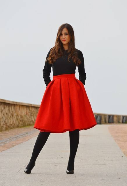 how to wear skirts in winter (13)