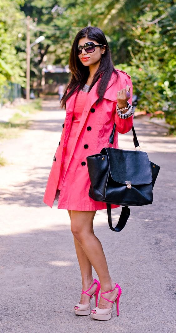 pink valentine dress for indian girl