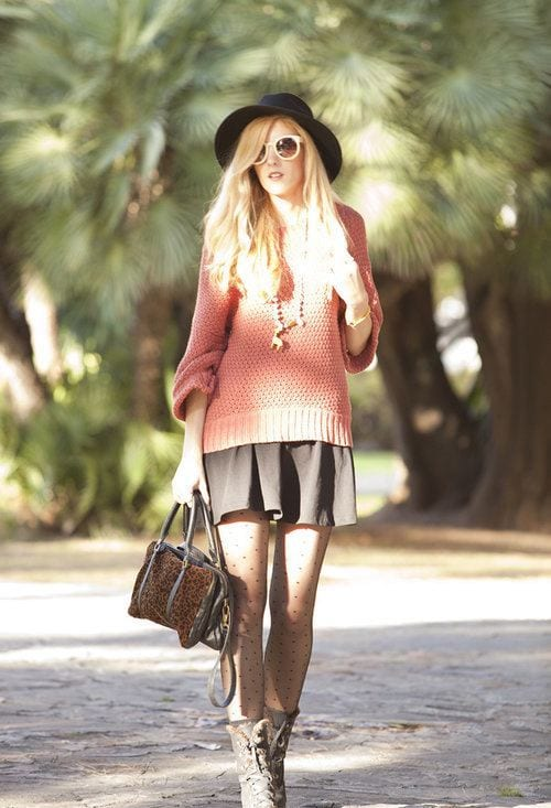 how to wear skirts in winter (12)