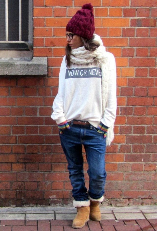 pull-bear-marcas-de-ropa-ash-rier-islandlook-main-single 18 Cute Outfits to Wear with Uggs Boots This Winter