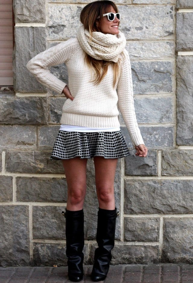 how to wear skirts in winter (11)