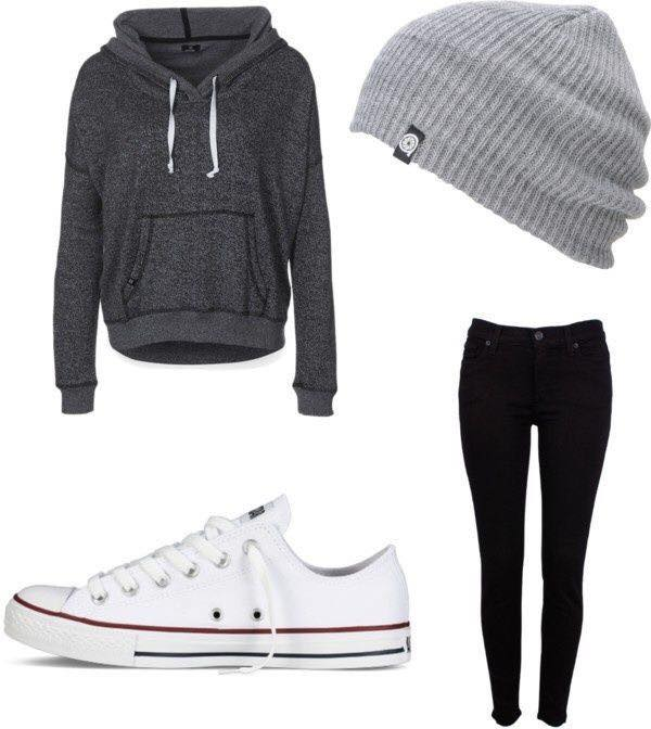 23 Cute Winter Outfits For College/High School Girls