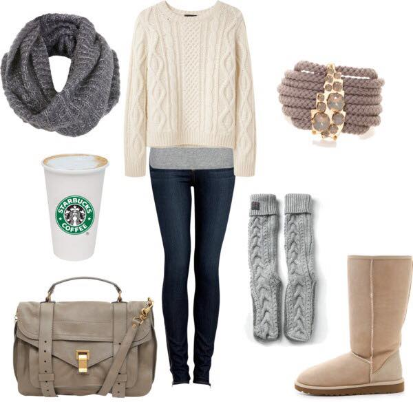 winter-outfits-for-college-girls 23 Cute Winter Outfits For College/High School Girls