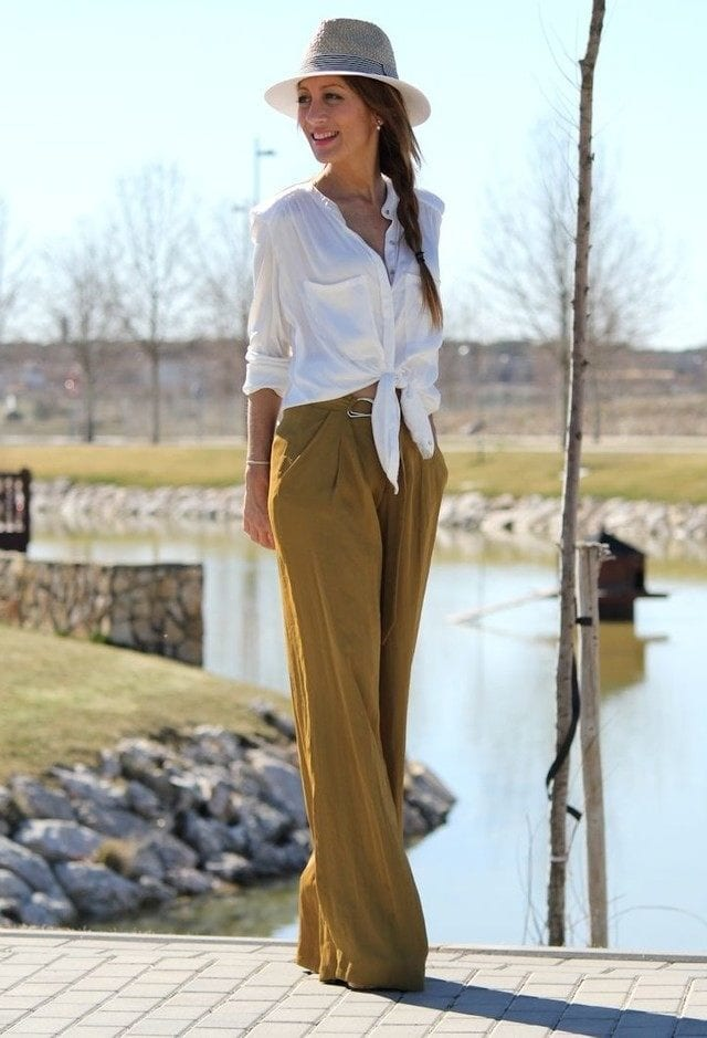 zara-camisas-pantalones-2look-main-single 25 Trendy Outfits to Wear with Fedora Hats for Chic Look