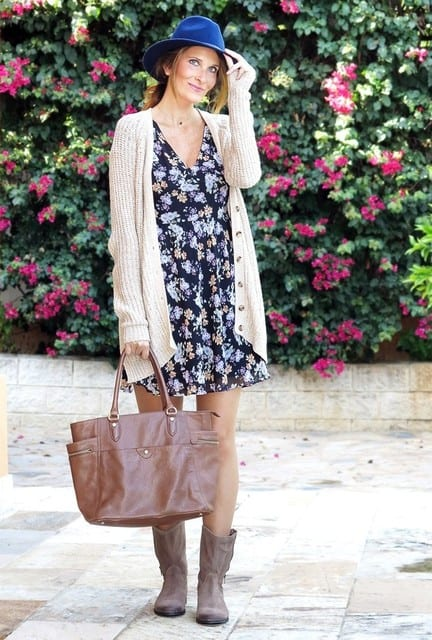 zara-dresses-marypaz-bootslook-main-single 25 Trendy Outfits to Wear with Fedora Hats for Chic Look