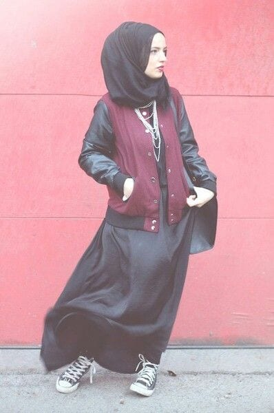 090c947fc932e58479a14902d805bcd3 Hijab Swag Style-20 Ways to Dress for a Swag Look With Hijab