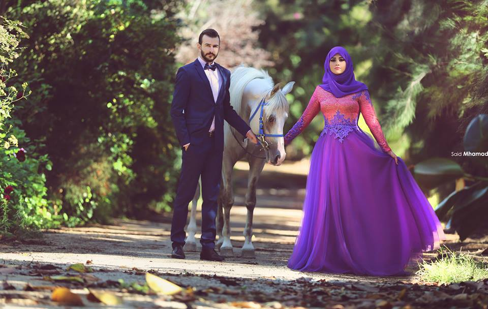 Muslim Love couple Hd Wallpaper : Outfittrends 150 Most Romantic Muslim couples Islamic Wedding...