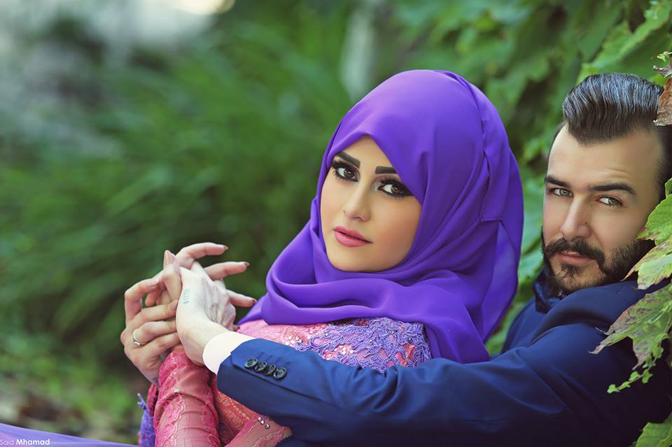 10906525_846980995372368_4650145318847610339_n 150 Romantic Muslim Couples Islamic Wedding Pictures
