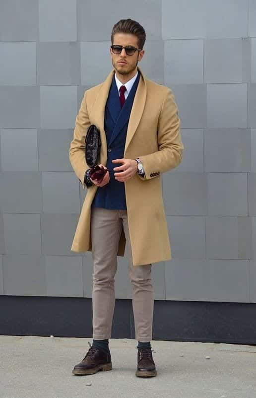 Buy low price, high quality mens overcoat camel with worldwide shipping on flip13bubble.tk