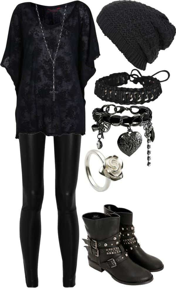teen goth clothes