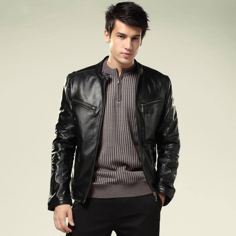 2013-new-fashion-mens-genuine-leather-jacket-real-leather-jackets-for-men-motorcycle-sheepskin-slim-free