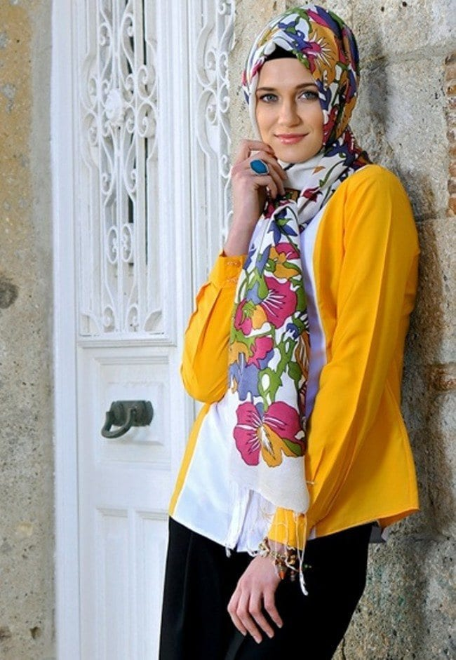 spring hijab fashion style Ideas (8)
