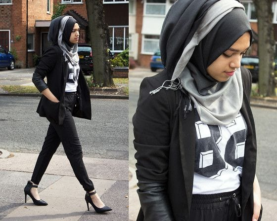 4532d58f19713fa4dc57bd34ce4a5f78 Hijab Swag Style-20 Ways to Dress for a Swag Look With Hijab