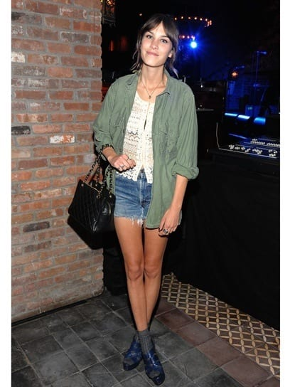 4_alexa-chung Top 10 Celebrities Military Inspired Outfit Ideas