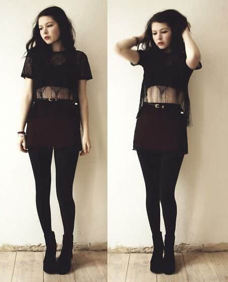 How to dress goth 12 cute gothic styles outfits ideas cute goth style outfit ideas 7 solutioingenieria Images