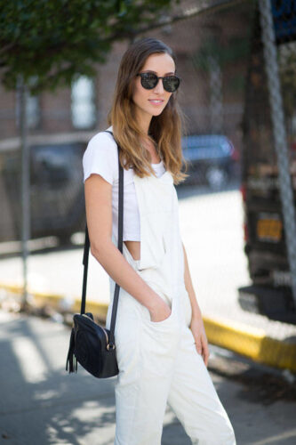 54bc23ea1a896_-_hbz-overalls-3-lg1-333x500 16 Popular Spring Street Style Outfits Ideas For Women