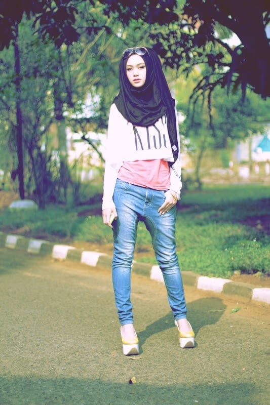 941756b02d15d791905647d88b52a795 Hijab Swag Style-20 Ways to Dress for a Swag Look With Hijab
