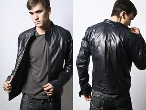 Leather jacket: 17 ideas in 4 styles