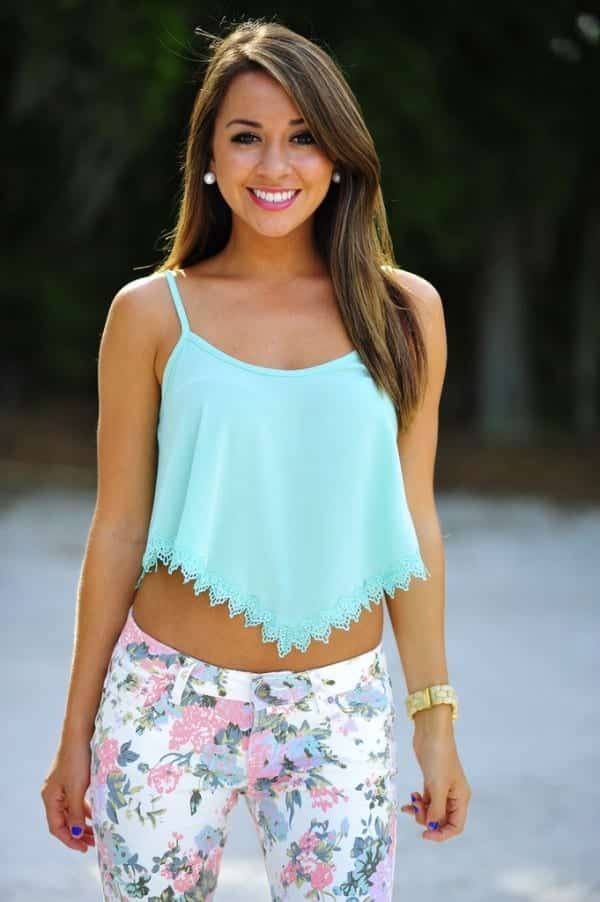 cute summer date outfits ideas (6)