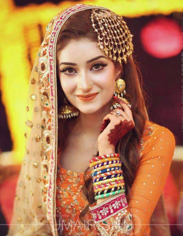 pakistani bride hairstyles