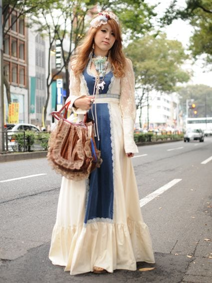 Long dress for mori girls