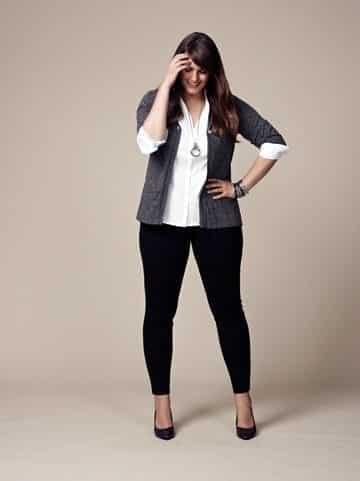 17 Elegant Plus Size Work Wear Outfits Combination Ideas
