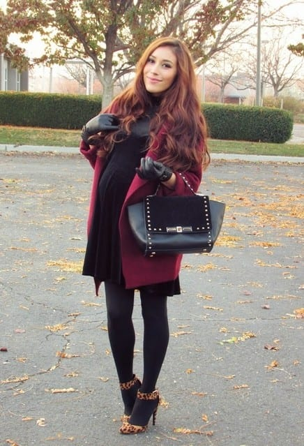 comfortable Winter baby shower outfits (11)