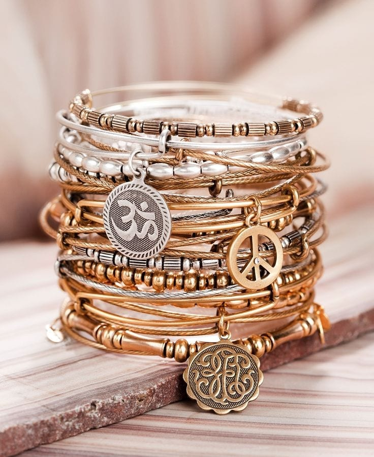 25 Cute Bangles For Girls To Compliment Your style