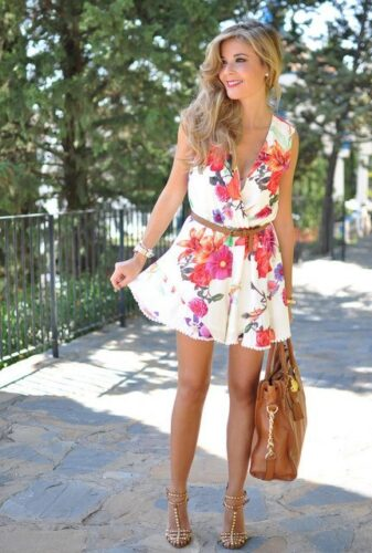 choies-floral-michael-kors-redlook-main-single-337x500 18 Best Spring Casual Outfits for Girls to Try This Season