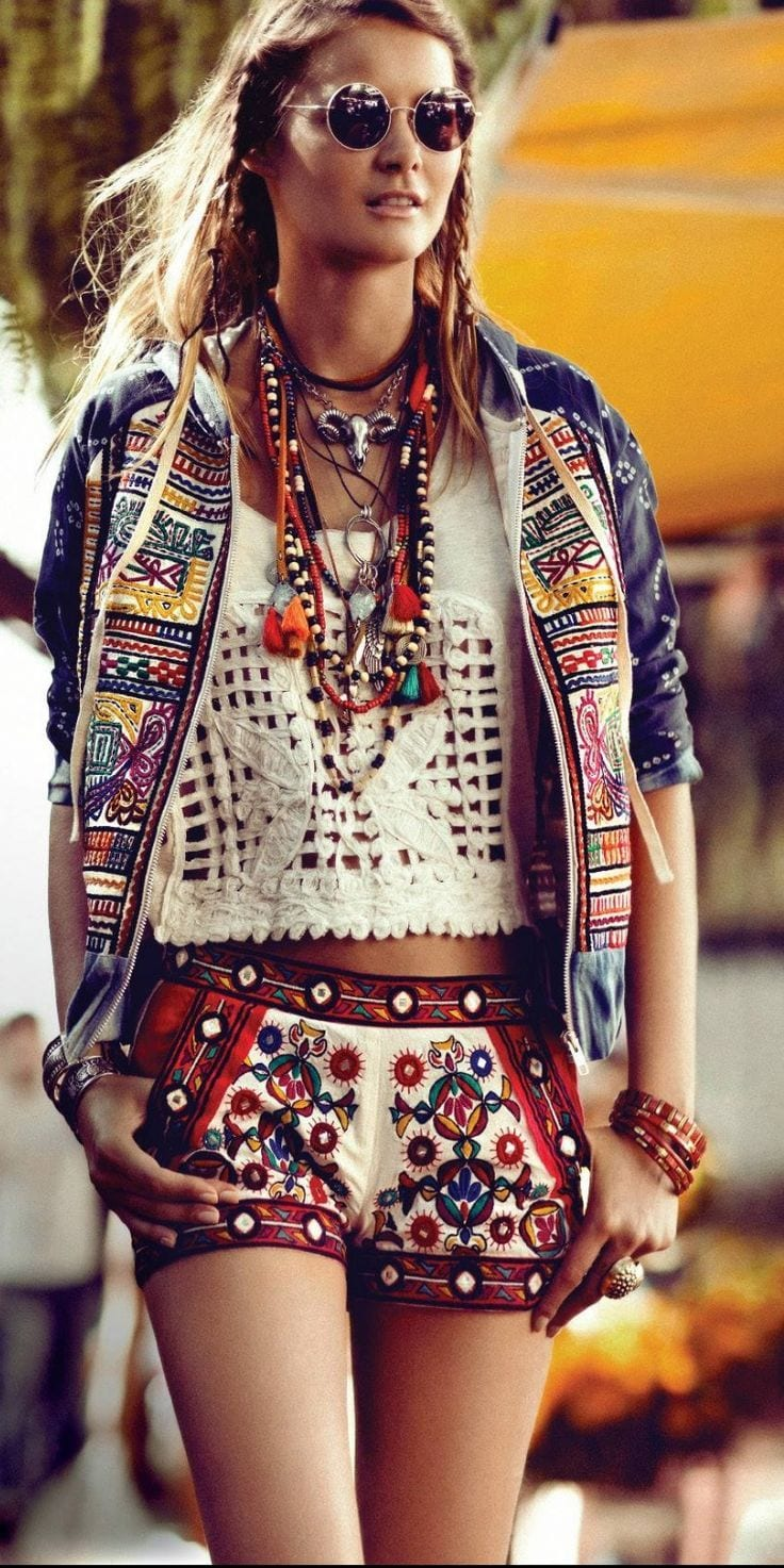 brilliant bohemian outfit for short hair boys