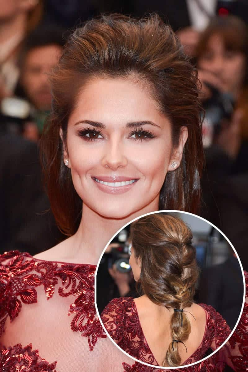 elle-wedding-braids-cheryl-cole-xln-xln Top 12 Celebrities Braided Hairstyles To Copy This Year