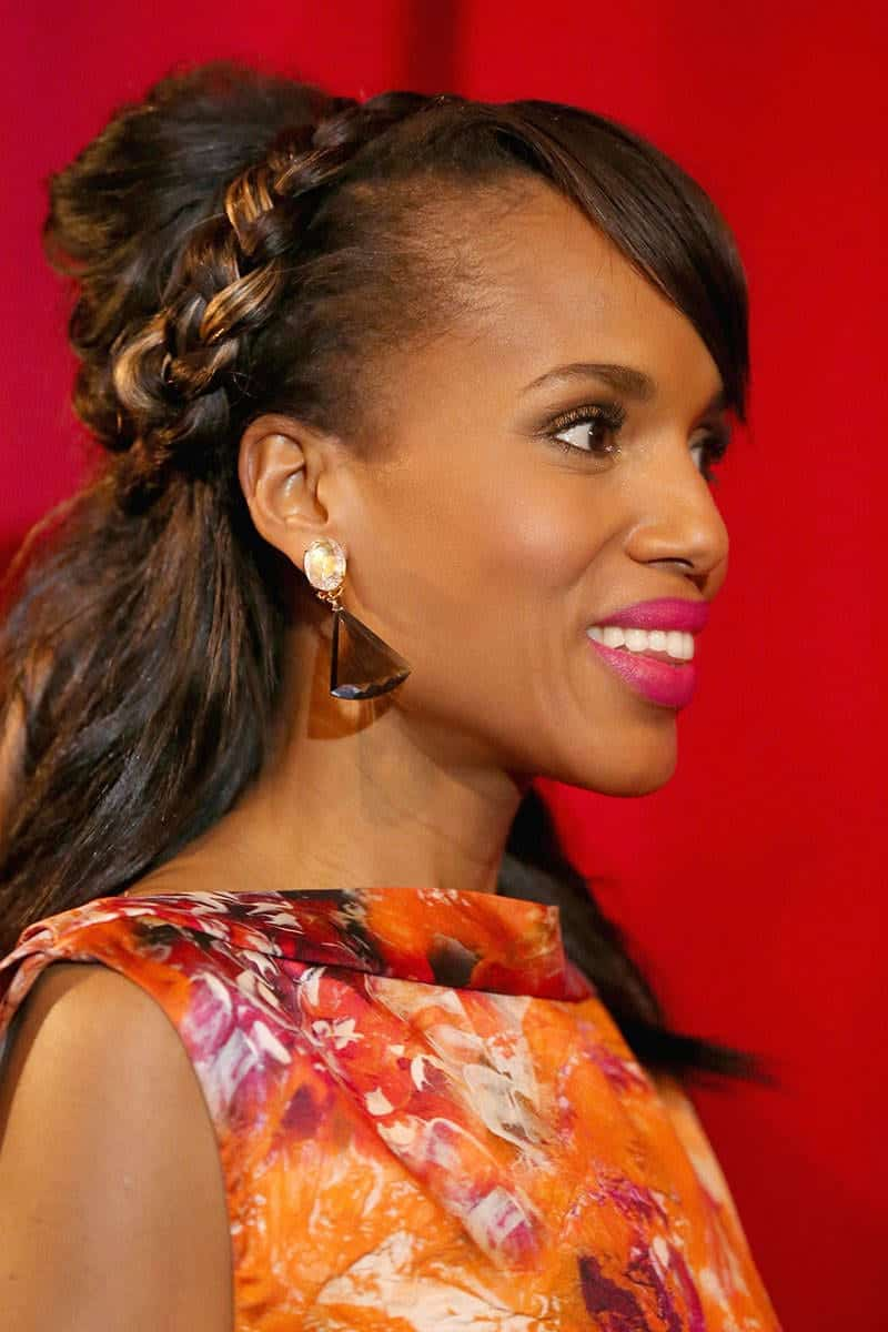 Awesome Top 12 Celebrities Braided Hairstyles To Copy This Year Hairstyles For Women Draintrainus