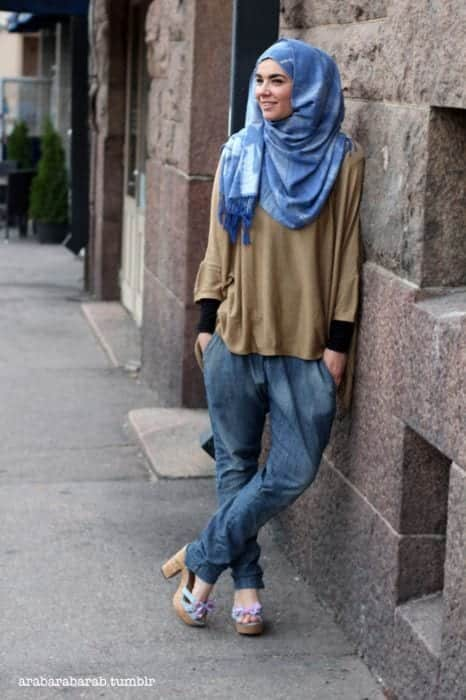 hijab swag style outfits (4)