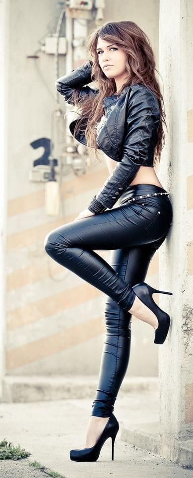women biker fashion ideas (5)