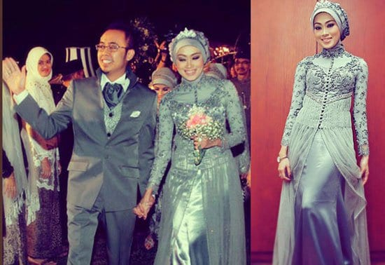 grey-bridesmaid-dresses-2 150 Romantic Muslim Couples Islamic Wedding Pictures