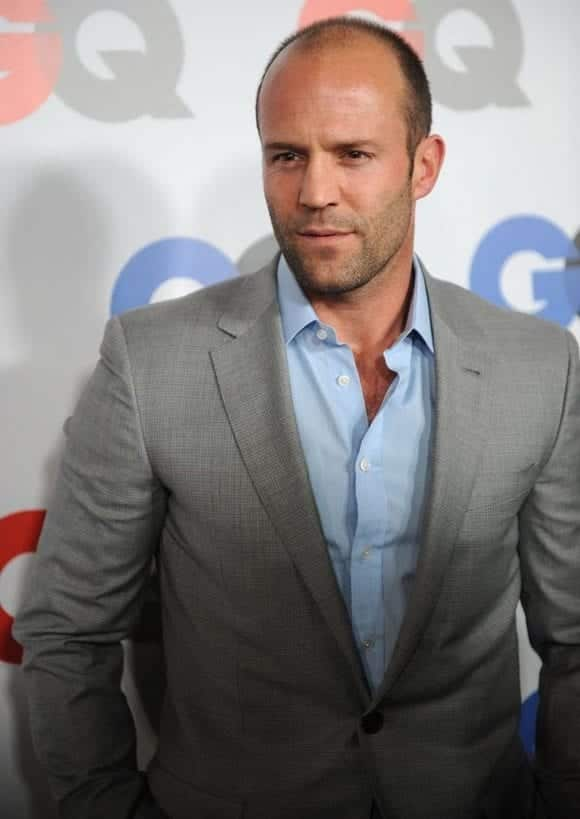 jason-statham-gq-light-blue-shirt 20 Best Men's Spring Casual Outfits Combination Ideas
