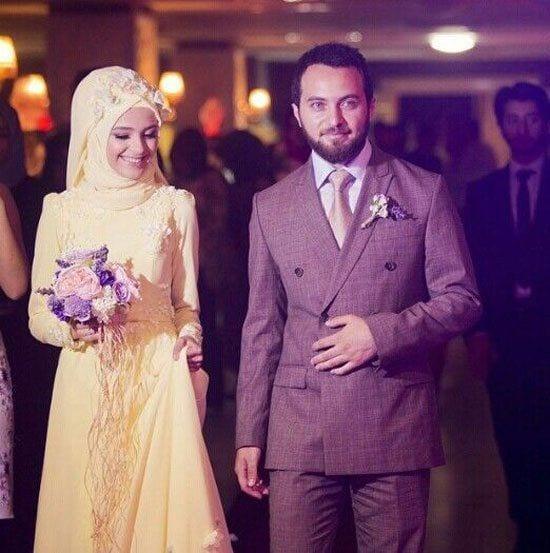 islamic wedding dress pics with hijab