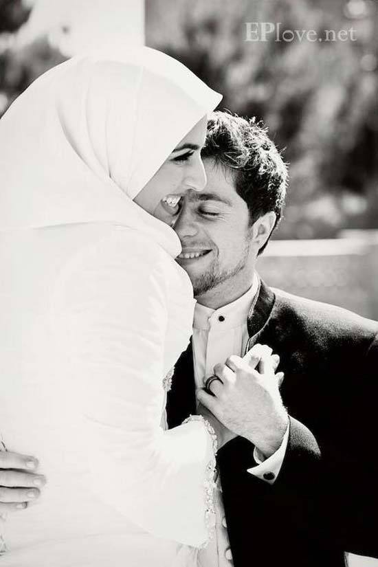 cute muslim marrige pics