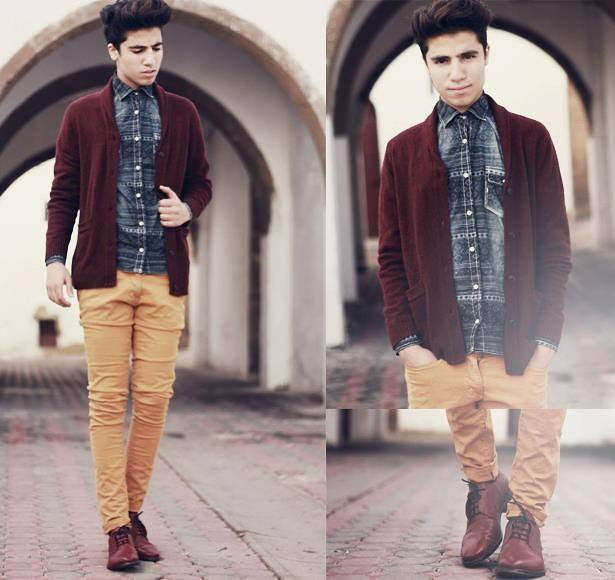 teen-guys-mustard-pants 15 Most Popular Casual Outfits Ideas for Men 2018
