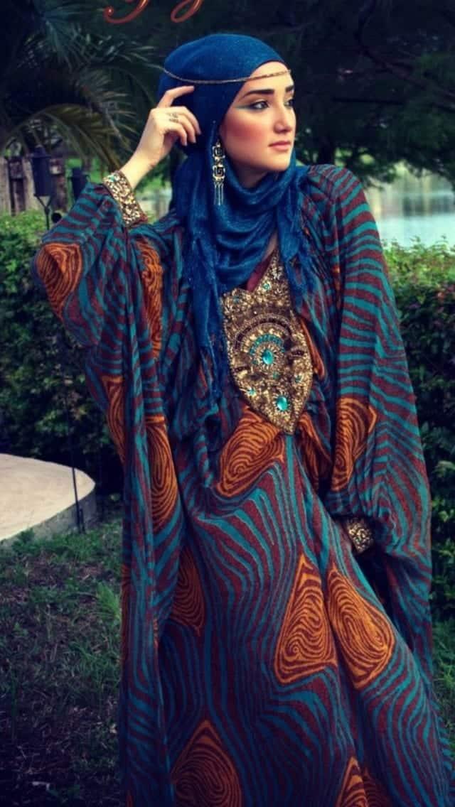 0d16d39643c3b0e301422efdc345bdf7 Hijab Earring Style - 16 Ideas to Wear Earrings with Hijab