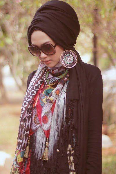 1030bdd6c1d7f1f5bdd977c82013e667 Hijab Earring Style - 16 Ideas to Wear Earrings with Hijab