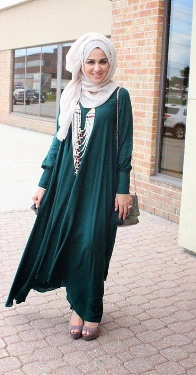 1925f51cc4cb245c37bafc23525f9244 Hijab Style With Abaya-12 Chic Ways To Wear Abaya With Hijab