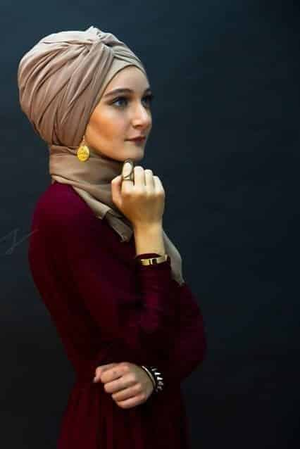 2048ddf527291781103f7960069217d6 Hijab Earring Style - 16 Ideas to Wear Earrings with Hijab