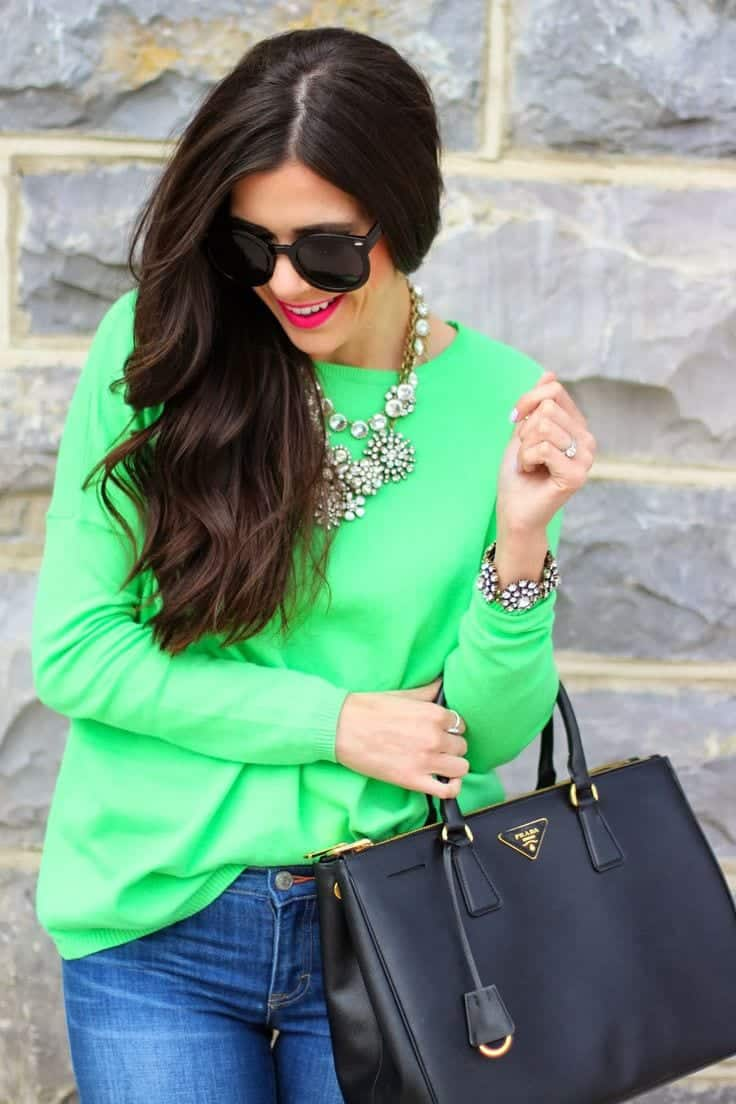 374e95a8fdcfba2329a7fd82206a1b61 16 Cute Green Outfits Combinations for St. Patrick Day