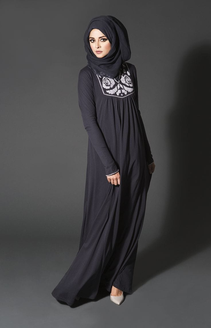 Outfittrends Hijab Style With Abaya 12 Chic Ways To Wear Abaya With Hijab
