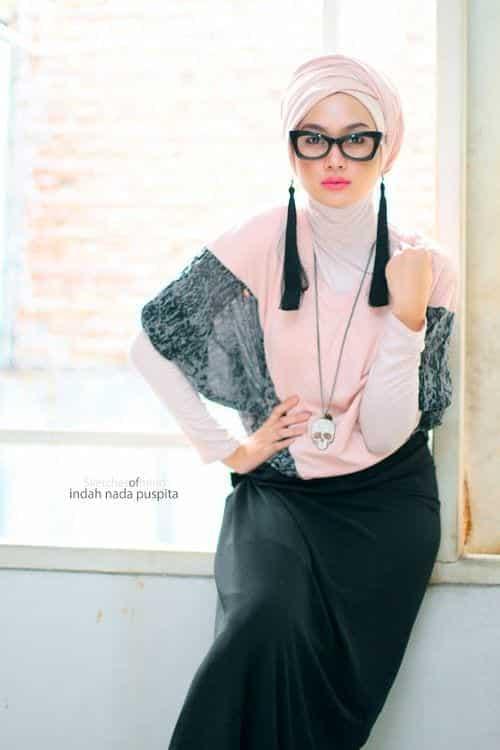 55cc34165e48a115b7a37b9e91a218a7 Hijab Earring Style - 16 Ideas to Wear Earrings with Hijab