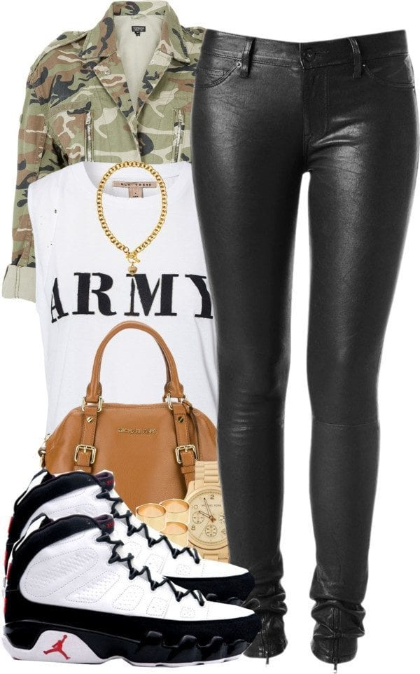 Retro-Air-Jordan-Shoes-with-tights 30 Cute Outfits Ideas to Wear with Jordans for Girls Swag