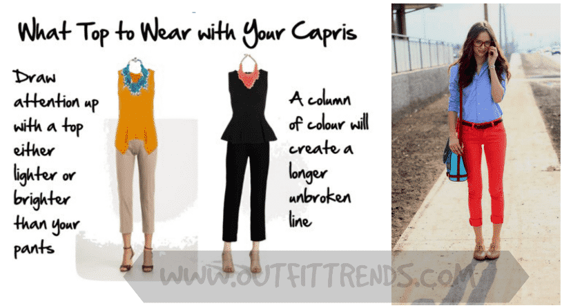 how to wear capri pants as short height girl (3)