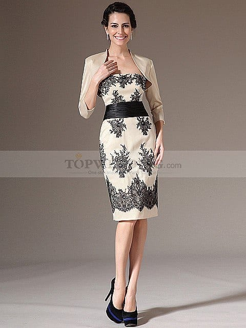 cute mother of bride Dresses (1)